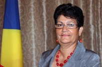 Minister for Home Affairs - Mrs. Mitcy LARUE