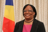 Minister of Education & Human Resource Development - Mrs. Jeanne SIMEON