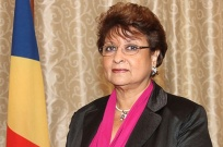 Minister for Local Government (Designated Minister) - Mrs. Macsuzy MONDON