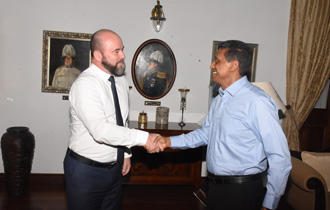 The Ambassador of Switzerland to Seychelles, H.E. Mr Phillipe Brant, paid a farewell call on the President of the Republic, Mr Danny Faure, at State House following a four year tenure in Seychelles.
