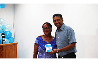 President Danny Faure was the guest of honour at a presentation ceremony to commemorate World Diabetes Day 2017, held at Seychelles Hospital. The theme for this year is 'Women and diabetes - our right to a healthy future'.