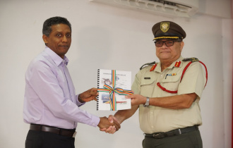 Revised Defence Policy officially handed over to the SPDF