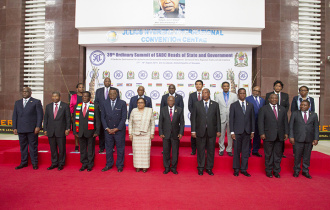 President Faure joins SADC Heads of States and Government for Official Opening of 39th SADC Summit