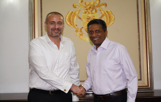 Accreditation of new Ambassador of Egypt to Seychelles