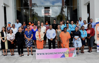 President Faure launches the 50 Million African Women Speak platform in Seychelles