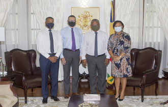Three Seychellois Ambassadors bid farewell to Public Sector