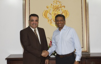 New Ambassador of the State of Kuwait to the Republic of Seychelles Accredited
