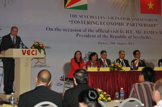 Opening of the Seychelles-Vietnam Business Forum