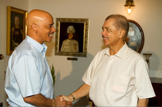 President meets with Opposition Leader