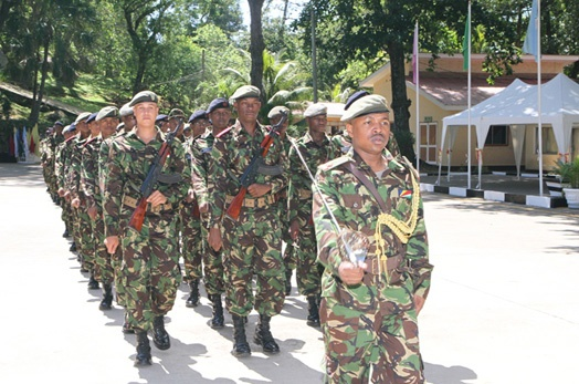Celebrating The Pride of the Seychellois Soldiers