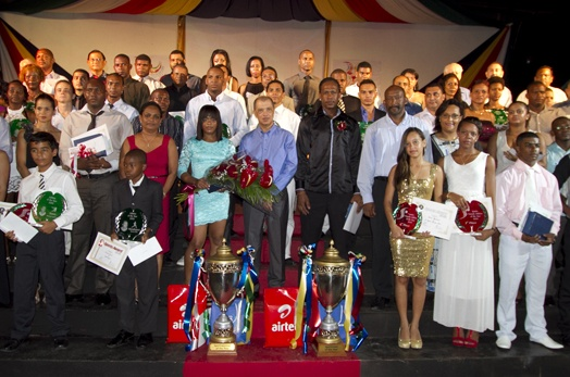 The best in Seychelles sports 2013