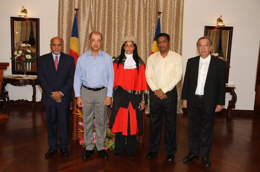 Second Seychelloise sworn in as Puisne Judge of the Supreme Court