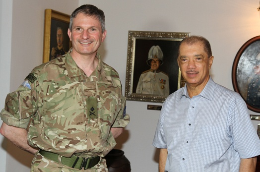 President Michel meets with EUNAVFOR Operation Commander
