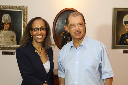 President Michel meets with the Executive Director of the African Development Bank