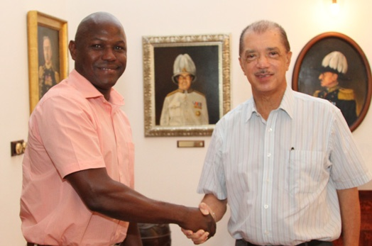 President congratulates Seychellois economist Ronald Cafrine for appointment to high level IMF post