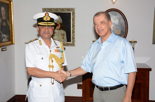 India hands over a fast interceptor boat to Seychelles Coast Guard