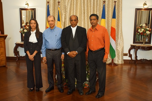 Justice Seegobin Nunkoo sworn in as Judge of the Supreme Court of Seychelles
