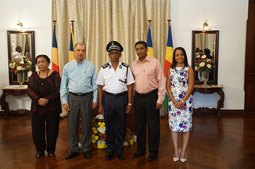 New Police Commissioner Reginald Elizabeth sworn-in