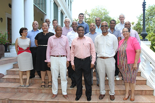 President Meets with Seychelles Chamber of Commerce and Industry