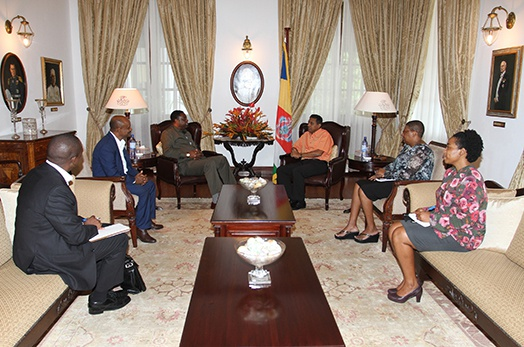President Faure Meets Executive Director of the African Development Bank