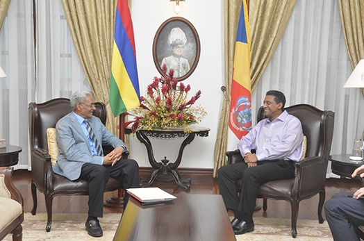 Seychelles and Mauritius shared common interests in bringing relations to new heights