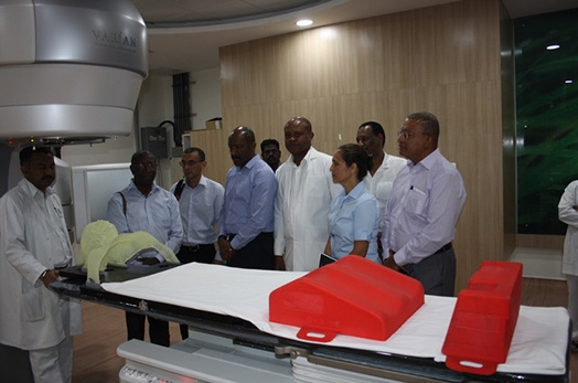 Vice-President Meriton visits the Madras Institute of Orthopedics and Traumatology (MIOT) in Chennai India