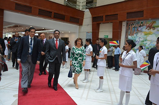 President Faure visits Specialists Hospitals in Colombo, Sri Lanka
