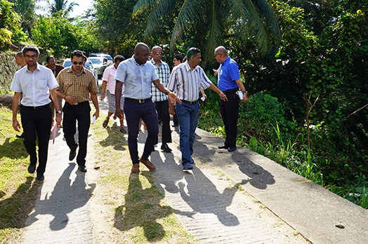 President Faure Visits English River District