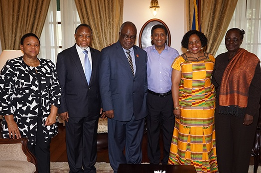 Courtesy Call by SADC PF Delegation