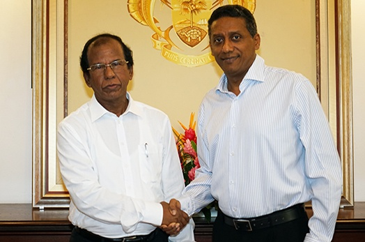 High Commissioner of the People's Republic of Bangladesh to Seychelles Accredited