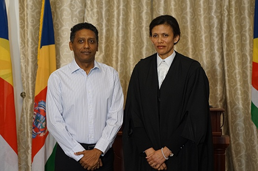 Judge Fiona Robinson sworn-in as Justice of Appeal