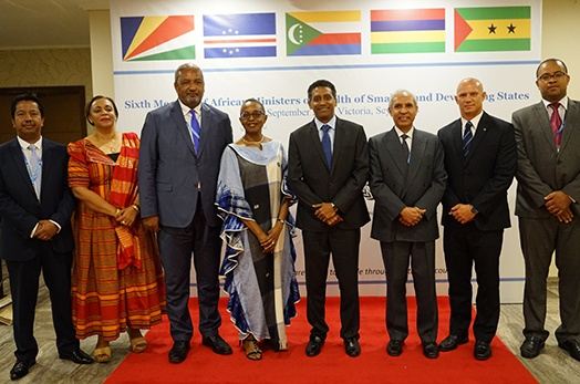 President attends official opening of sixth Meeting of African Ministers of Health of Small Island Developing States