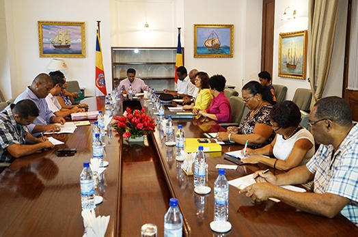 President Faure chairs follow-up meeting from district visits
