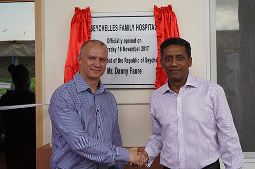 Seychelles Family Hospital officially inaugurated by President Danny Faure