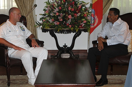 President meets delegation from EU Naval Force Atalanta