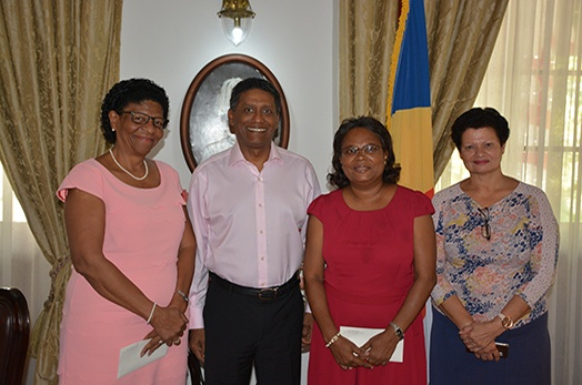 President Faure commends retirees for long years of service in the public sector