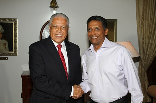 President Faure Receives Minister For Tourism And Transport Of The Republic Cabo Verde