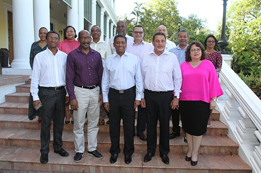 President Faure meets with Seychelles Ambassadors