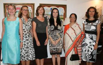 Meeting of First Lady and diplomatic spouses association