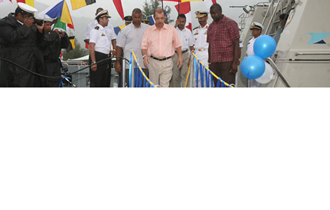 UAE hands over Coast Guard vessels