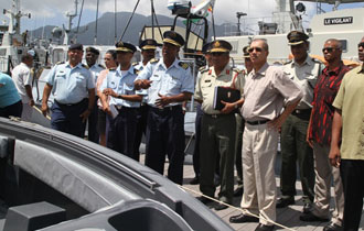 Strengthening the Seychelles maritime forces is a priority