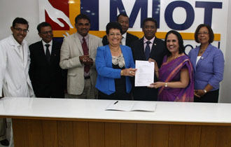 Seychelles and MIOT Hospitals sign New Training Partnership