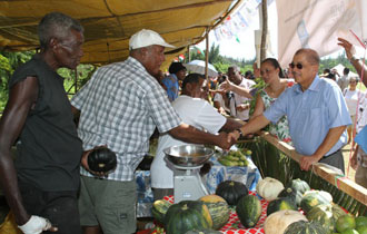Praslin and La Digue showcase talent at National Agricultural and Horticultural show