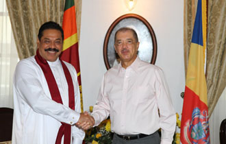 Seychelles and Sri Lanka committed to further strengthen relations