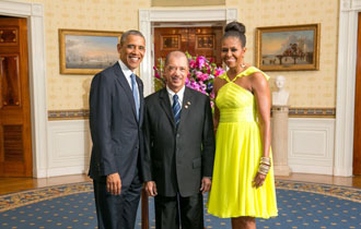 Seychelles President attends US-Africa Leaders Summit Dinner at the White House