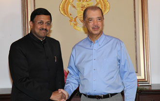 New Indian High Commissioner to Seychelles Accredited