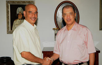 President Michel meets Leader of the Opposition