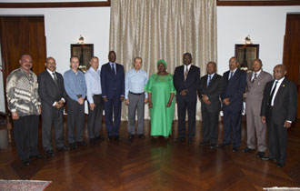 "Courtesy Call by East Africa Standby Force (EASF) Council of Ministers -  ""Seychelles committed to fully supporting the mission of EASF"""