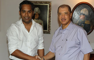President Michel meets with SFF Chairman