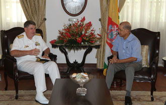 Seychelles and Australia reaffirm commitment to security and stability in the Indian Ocean